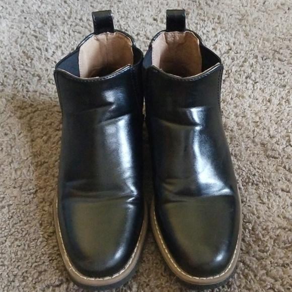 Harper Canyon Shoes | Boys Black Dress